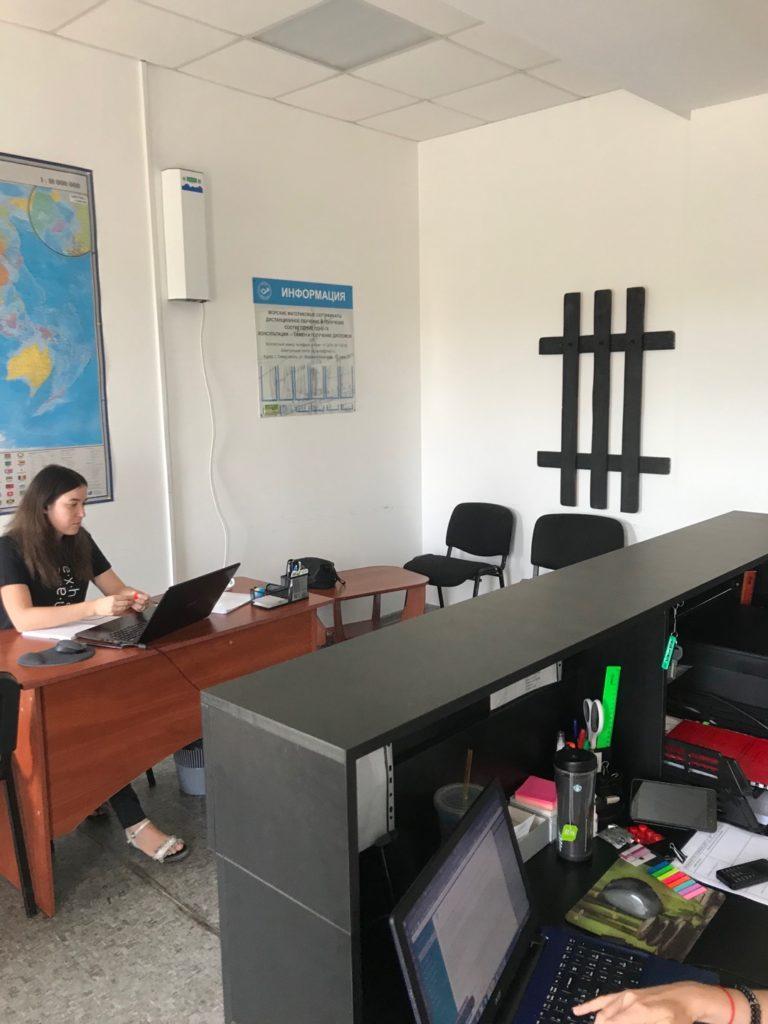 """Рециркуляторы воздуха. Морское Агенство """"Аврал"""" г.Севастополь"""