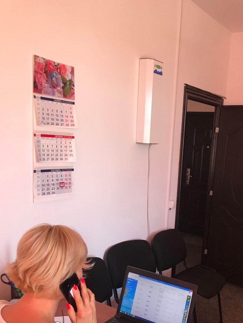 Рециркулятор воздуха. Юридический центр «Куй Железо» г.Севастополь