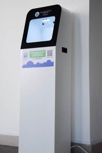 Автомат для бесконтактной дезинфекции рук